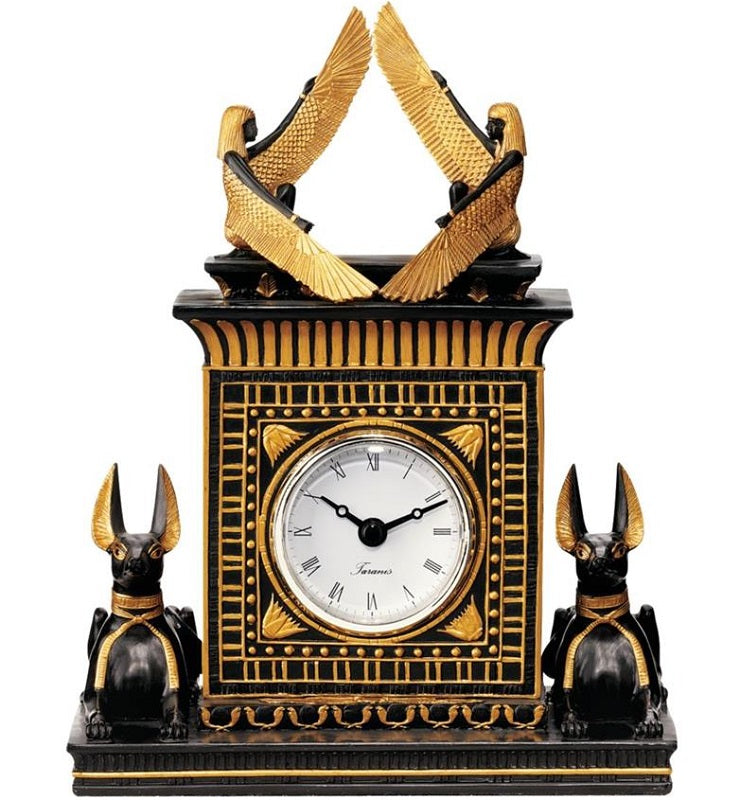 Temple of Anubis Clock