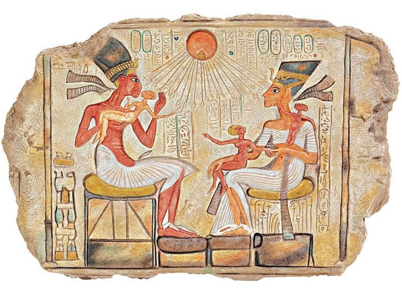 It\'s A Black Thang.com - Ancient Egyptian Mirrors and Frames