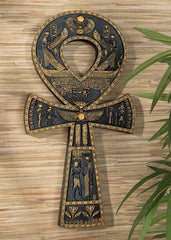 Ankh Egyptian Wall Plaque
