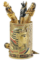 Egyptian Pharaoh Pen Holder