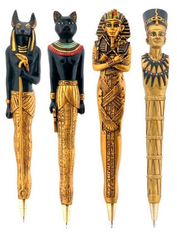 Ancient Egyptian Pen Set (set of 4)