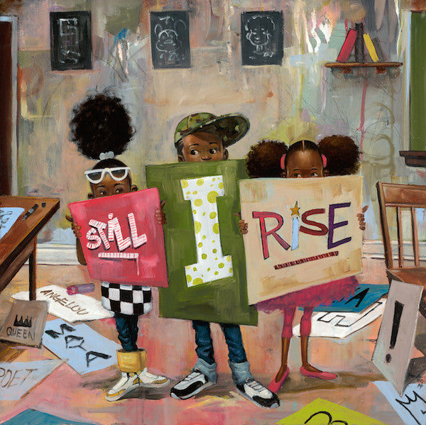 Still I Rise - 24x24 limited edition giclee - Frank Morrison