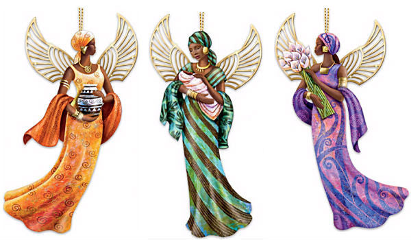 The Lord's Blessings - Keith Mallett angel ornaments