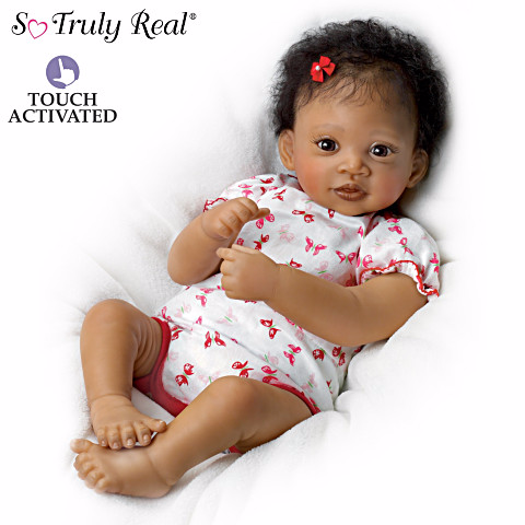 Sweet Butterfly Kisses - African American doll