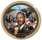 Martin Luther King Jr - commemorative plate