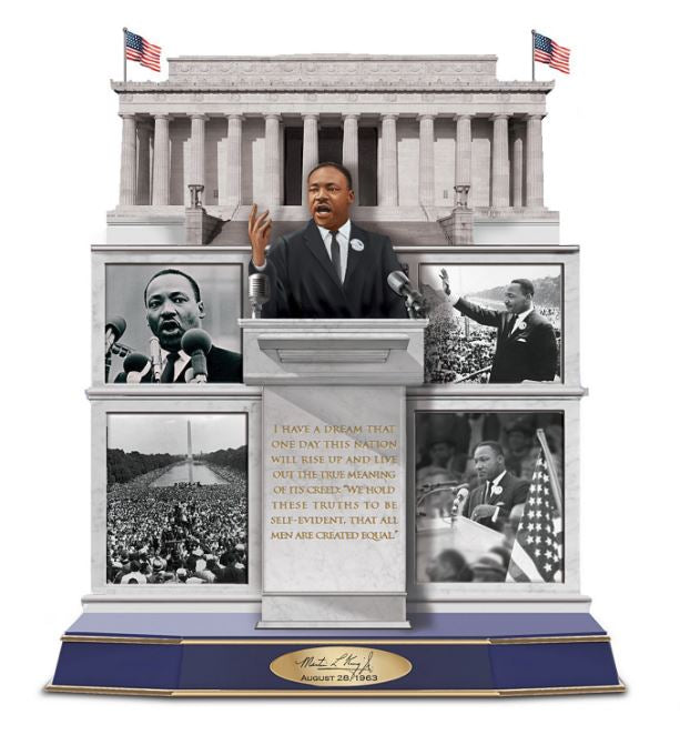 Martin Luther King Jr - tribute sculpture