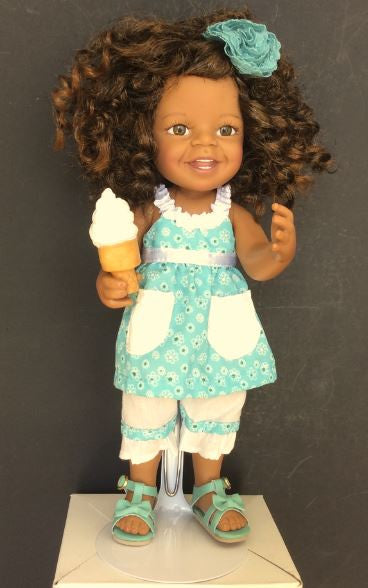 Giggles and Curls - African American collectible doll