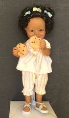 Buttons and Bows - African American collectible doll