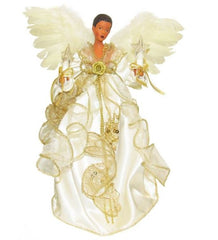 Angel Tree Topper - Ivory and Gold