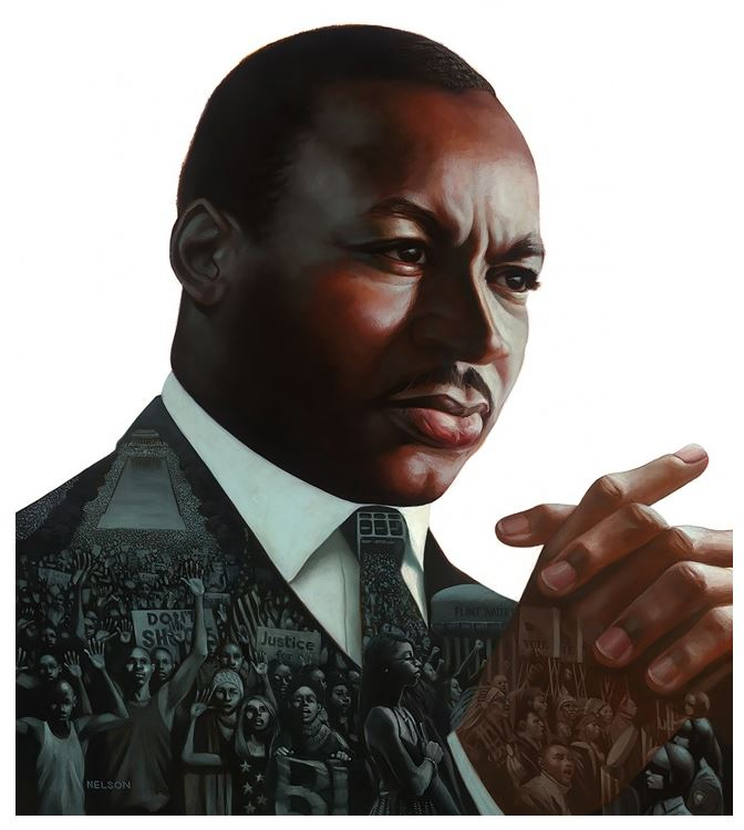 MLK a Dream Deferred - 21x24 - limited edition - Kadir Nelson