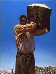 Cotton - 33x25 - limited edition - Kadir Nelson