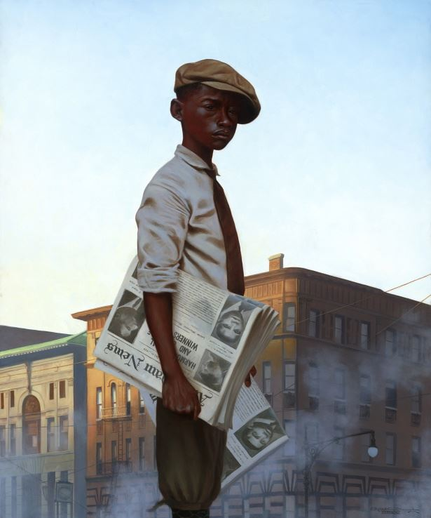 Morning Post - 20x24 - limited edition - Kadir Nelson