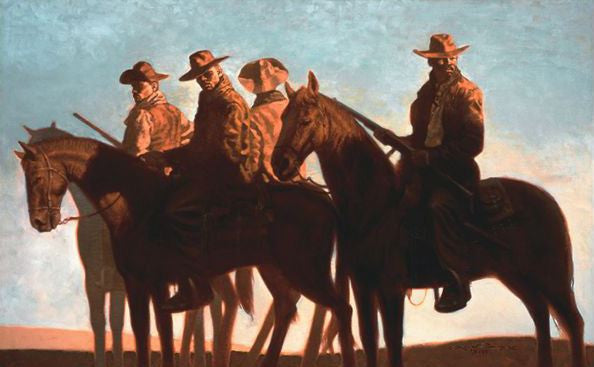 Outlaws - 34x21 limited edition - Kadir Nelson