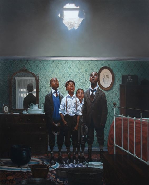Hole In The Roof - 20x24 - limited edition - Kadir Nelson