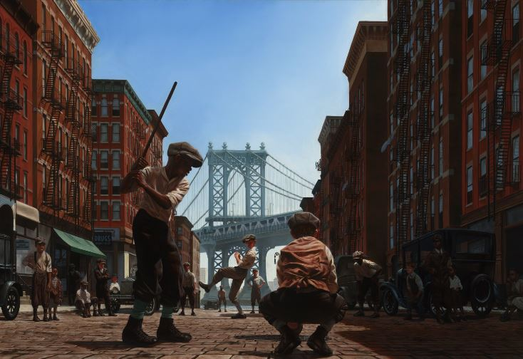 Stick Ballers - 37x27 - signed open edition - Kadir Nelson
