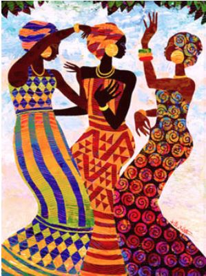Celebration - 20x32 - print - Keith Mallett