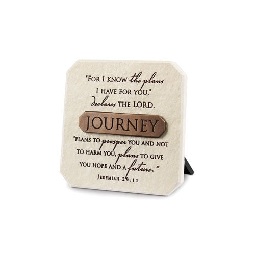 Bronze Title Bar - Journey Plaque
