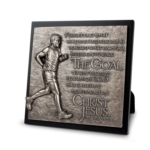 Sculpture Plaque - Runner