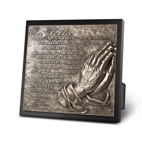 Sculpture Plaque - The Lords Prayer