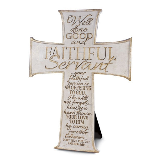 Faithful Servant - Cross - cream