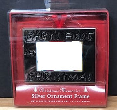 Babys First Christmas - ornament frame