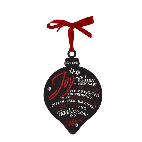 Chalkboard Ornament - Joy