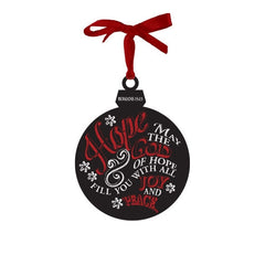 Chalkboard Ornament - Hope