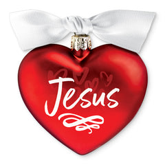 Jesus - Heart of Christmas ornament