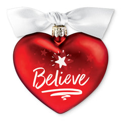 Believe - Heart of Christmas ornament