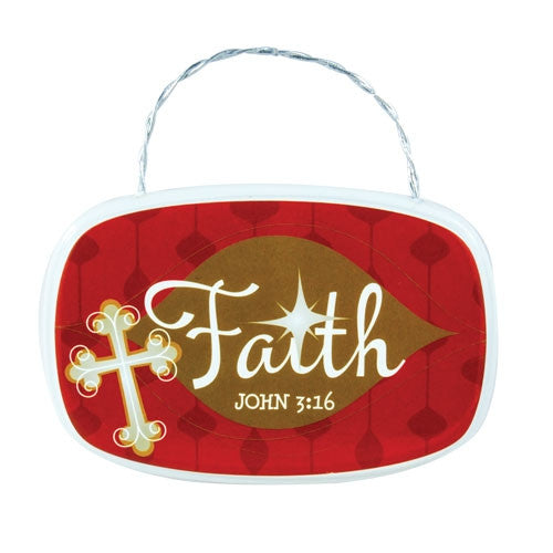 Plaque Ornament - Faith