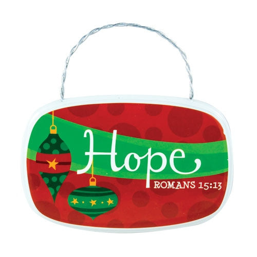 Plaque Ornament - Hope