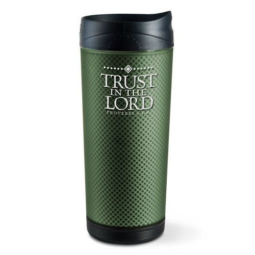 Frosted Tall Tumbler - Trust In The Lord
