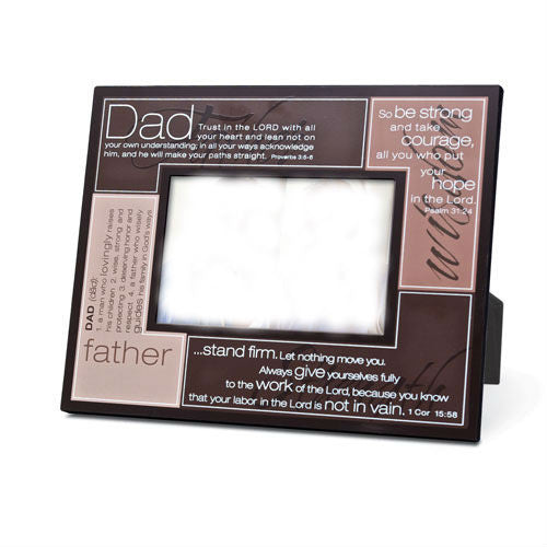 Definition Series - Dad Plaque - photo frame