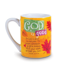 Color Block Series - God is Good mug