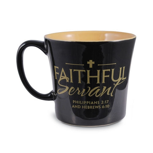 Faithful Servant - Mug - black