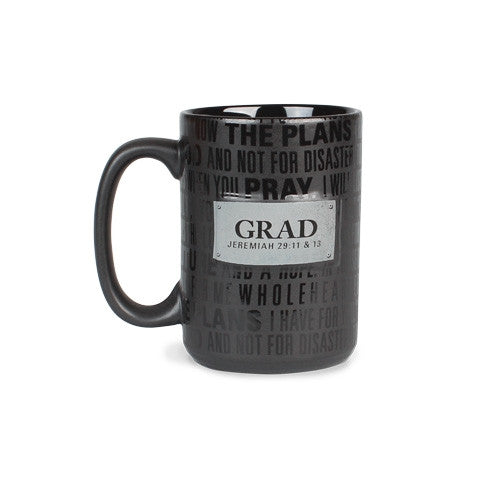 Badge of Faith mug - Grad
