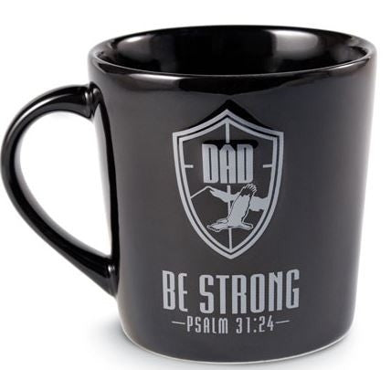 He is Your Shield mug - Dad