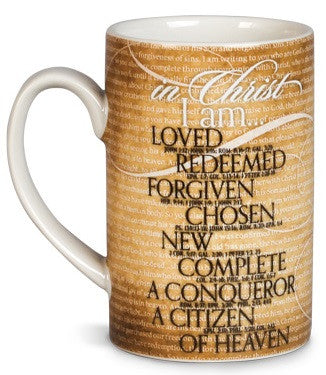 In Christ I Am - mug