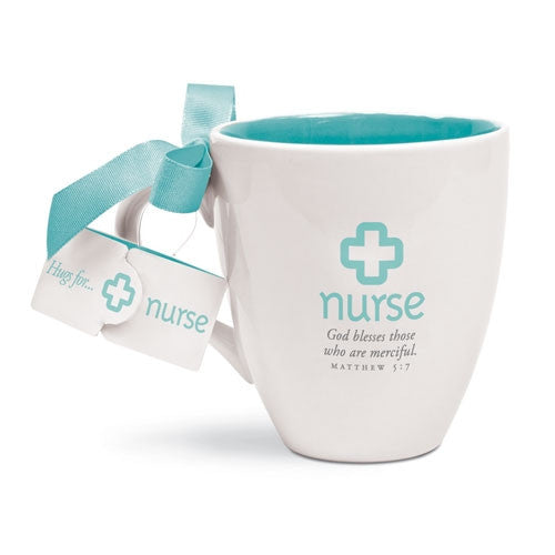 Cups of Hugs mug - Nurse