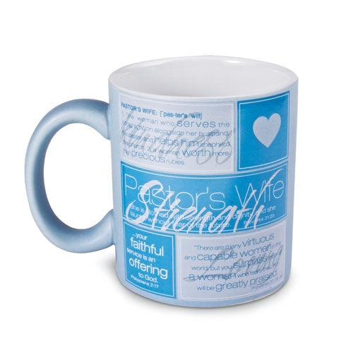 Definition Series - Pastor's Wife Mug