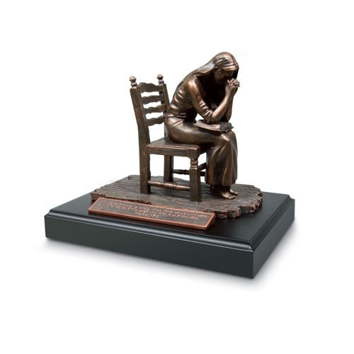 Sculpture - Praying Woman - open box item