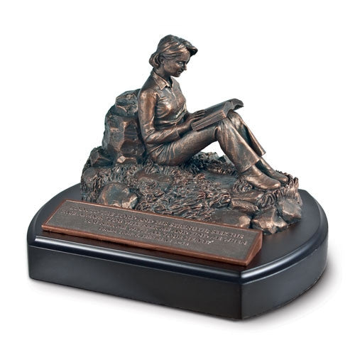 Sculpture - Putting God First - female