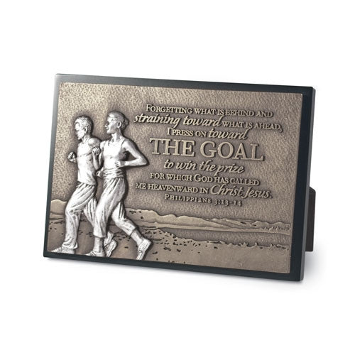 Sculpture Plaque (small) - The Goal
