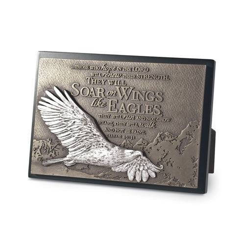Sculpture Plaque (small) - Soaring Eagle