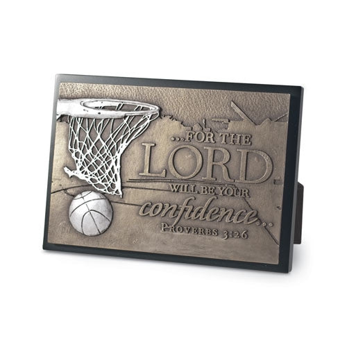 Sculpture Plaque (small) - Basketball
