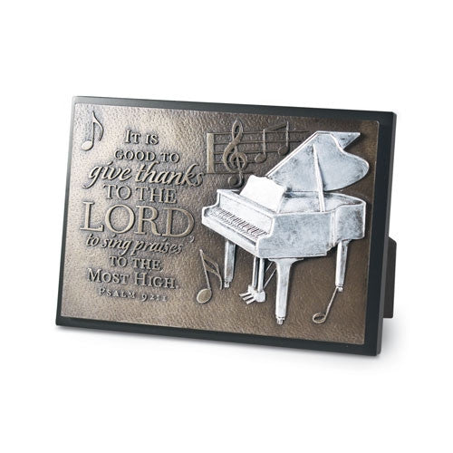 Sculpture Plaque (small) - Praise