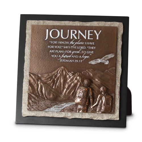 Graduate Sculptured Plaque - Journey