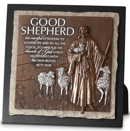Good Shepherd - plaque - ministry edition