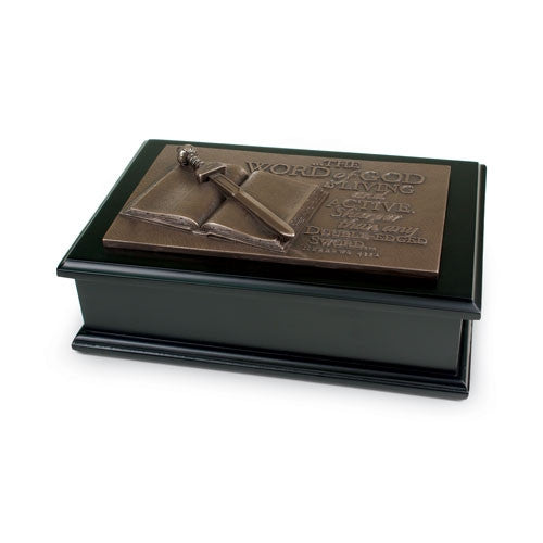 Scuplture Box - Word of God