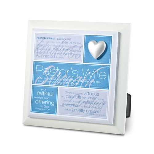 Definition Series - Pastor's Wife Plaque